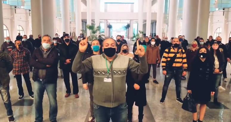 الفنانون المعتصمون يرفضون المنح الاستثنائية التي أعلنت عنها وزارة الشؤون الثقافية