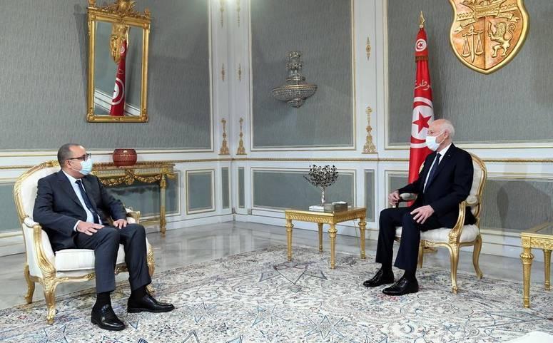 الوضع السياسي والاقتصادي والاجتماعي بالبلاد محور لقاء رئيس الجمهورية بالمشيشي