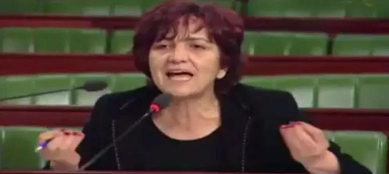 سامية عبو : من يمد اليد للنهضة شريك في الإجرام بحق البلاد واذا تحالف معها التيار فسأتركه