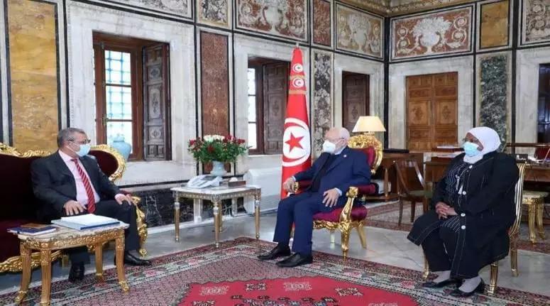 رئيس مجلس نواب الشعب يستقبل رئيس الجامعة الوطنية للبلديات التونسية