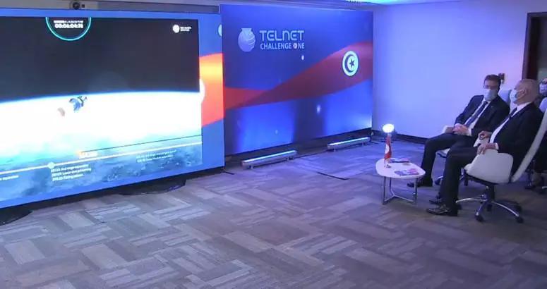 اطلاق أول قمر صناعي تونسي