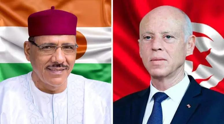 الرئيس قيس سعيّد يهنّئ نظيره النيجري بمناسبة فوزه في الإنتخابات الرئاسية