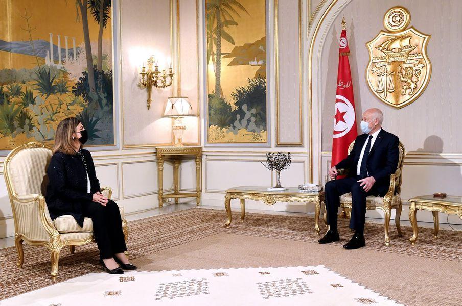 سعيّد يلتقي وزيرة الخارجية الليبية