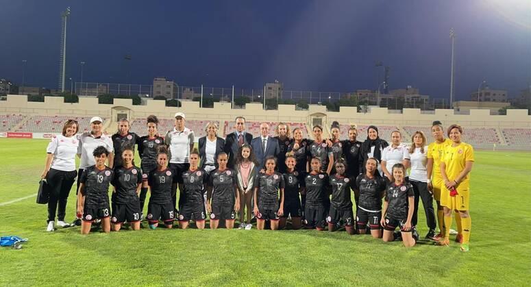 المنتخب التونسي للسيدات يفوز وديا على نظيره الأردني (2-1)