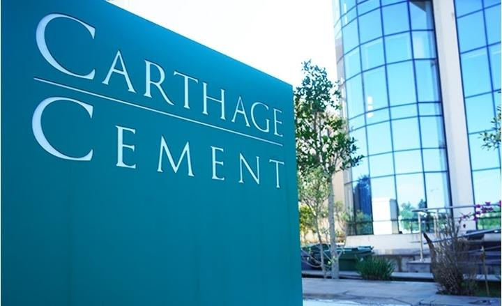 شركة Carthage Cement تقرر تخفيض سعر الجملة للإسمنت بحساب 150 دينار للشاحنة الواحدة
