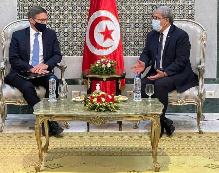 مستشار الخارجية الأمريكية يعرب عن دعم بلاده لتونس لمواصلة الحفاظ على مكتسباتها الديمقراطية وأسس دولة القانون