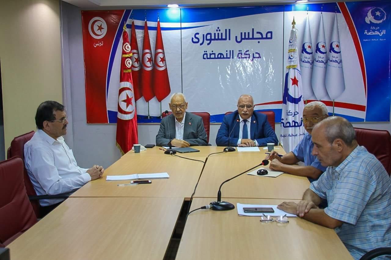 تركيبة المكتب التنفيذي الجديد للنهضة تفشل في الحصول على ثقة مجلس الشورى