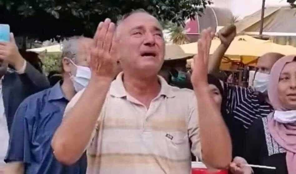 الافراج عن المعلم / الامام الذي تم ايقافه في مسيرة 10 أكتوبر