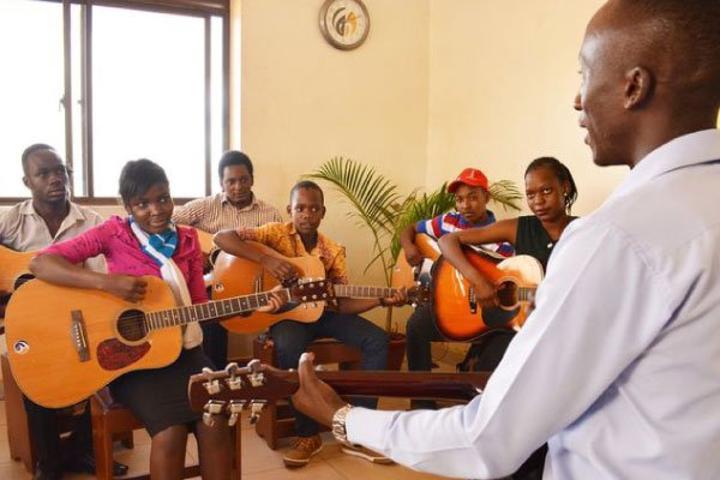 Kiyega built Esom School of Music from scratch