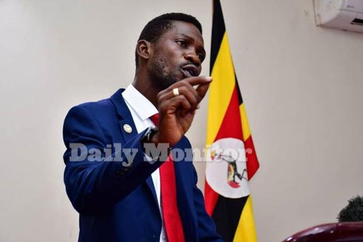 Security raids Bobi Wine's home two days to election