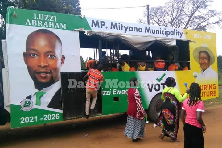 Confusion as DP parliamentary candidate backs Museveni for presidency