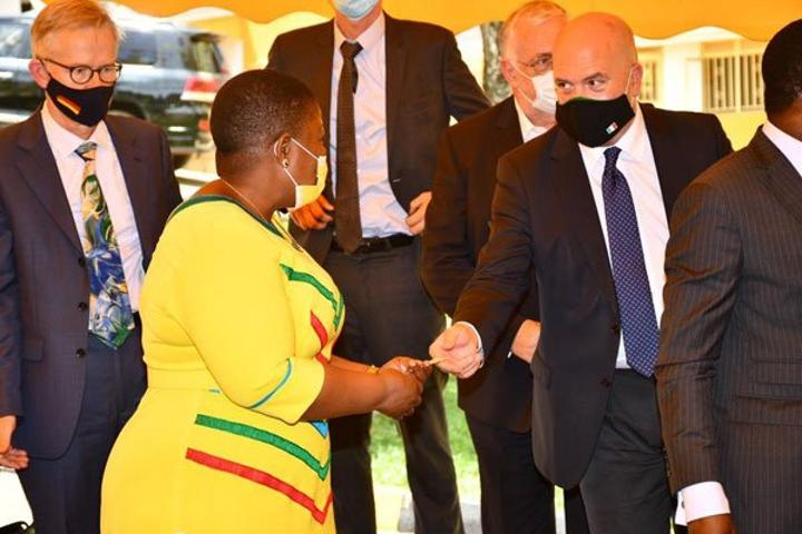 EU, NRM discuss human rights abuse, fake news