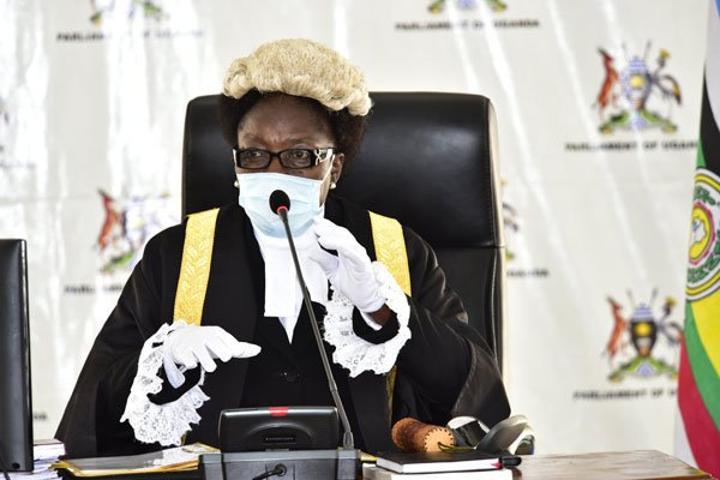 Speaker Kadaga directs MPs on delayed bills