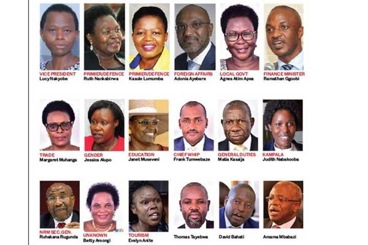 Who is who of the proposed ministerial appointees?