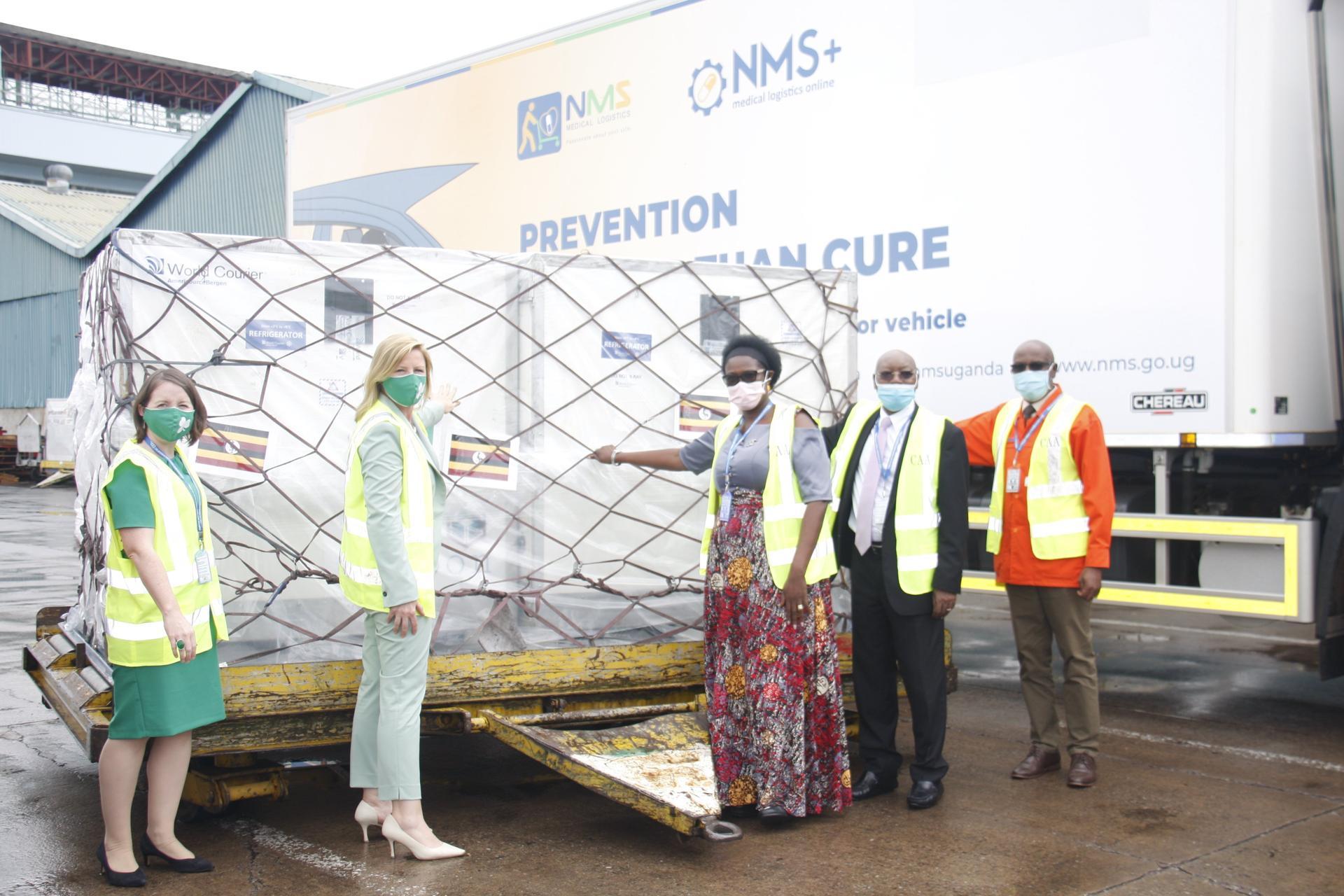 Uganda receives additional 335,000 Astrazeneca doses from Ireland