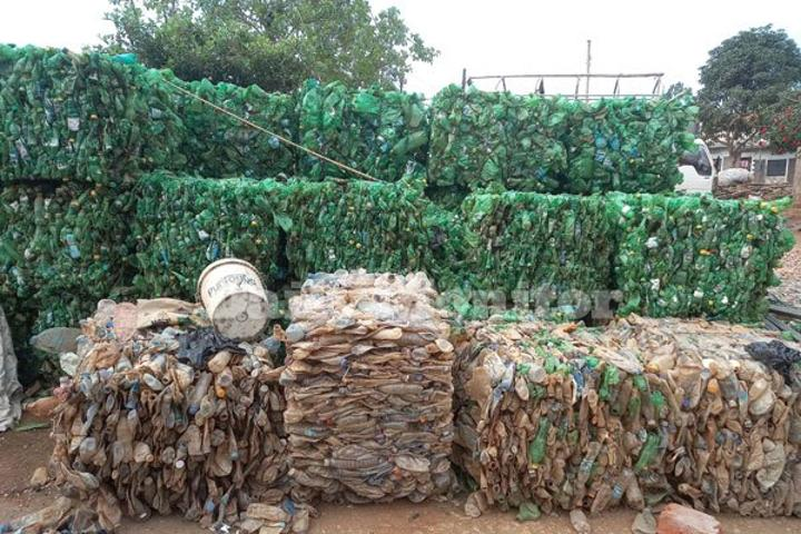 Masaka collects 500 tonnes of plastic waste in four years