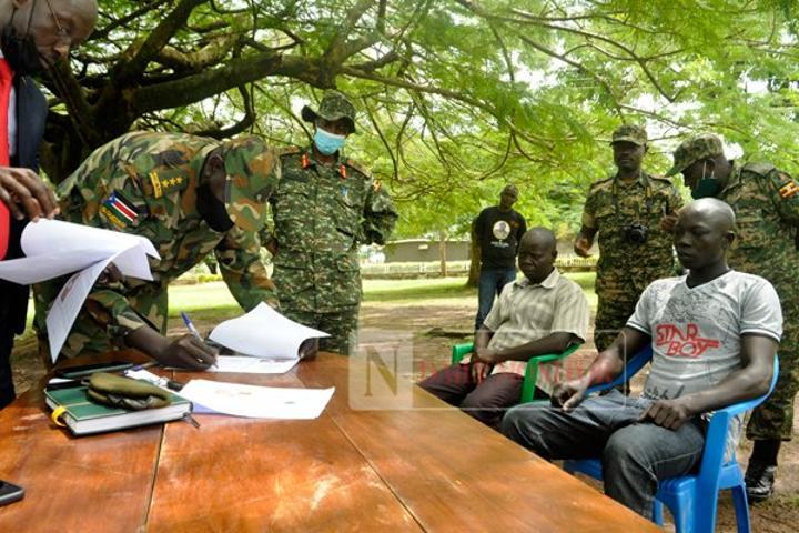 UPDF repatriates two South Sudanese rebels