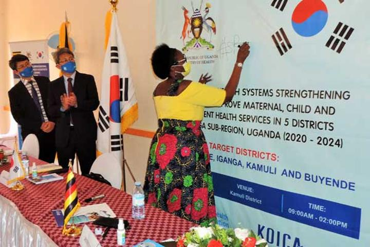 Busoga gets Shs35b for child, maternal health
