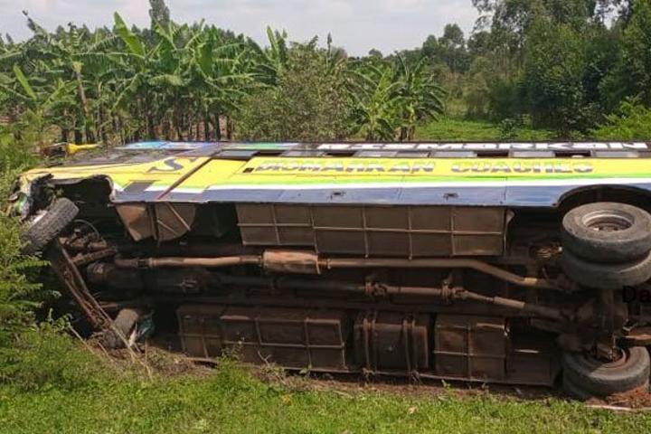 Three people perish in Rwampara road accident