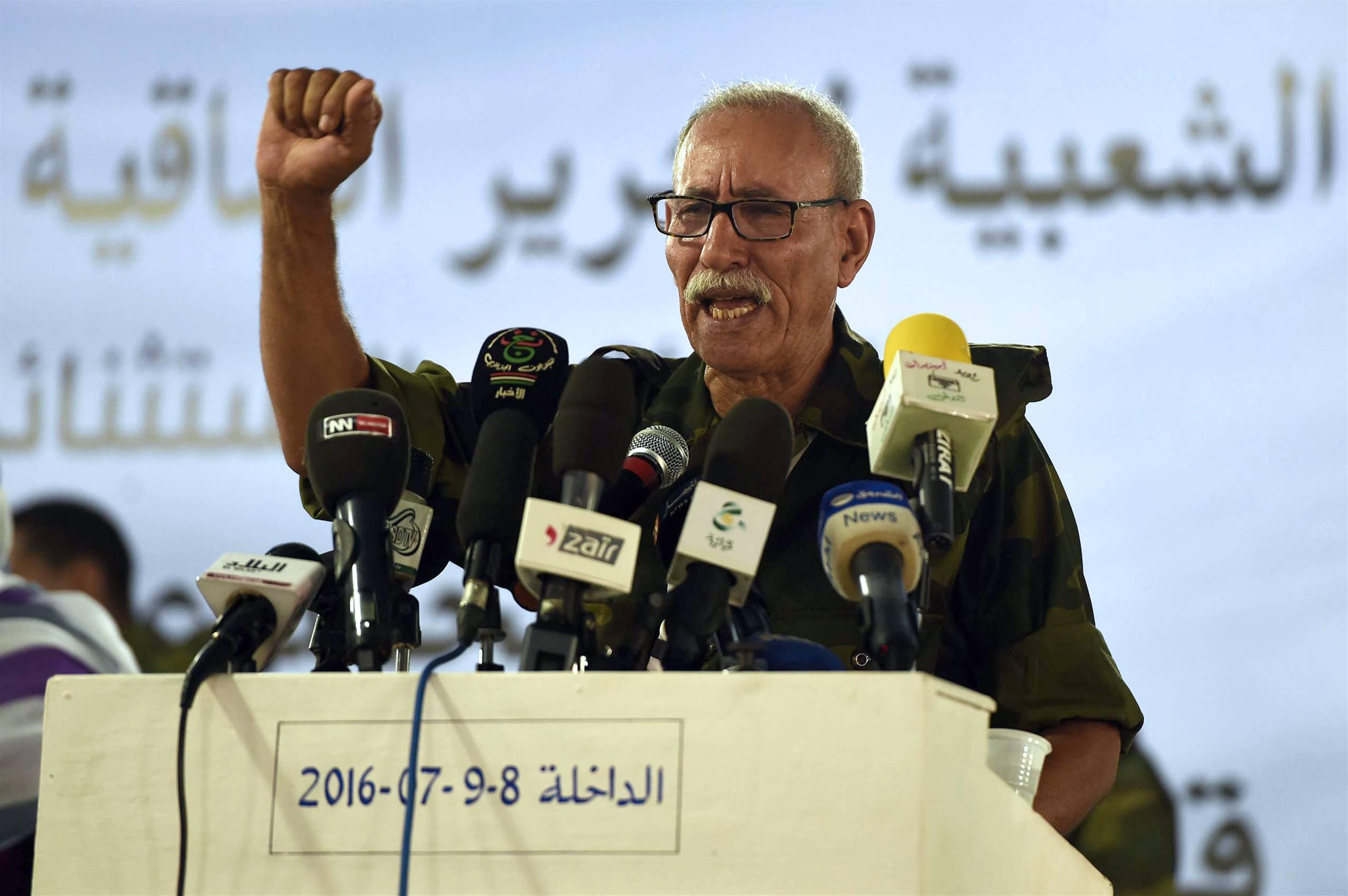 إبراهيم غالي، الأمين العام لجبهة البوليساريو،