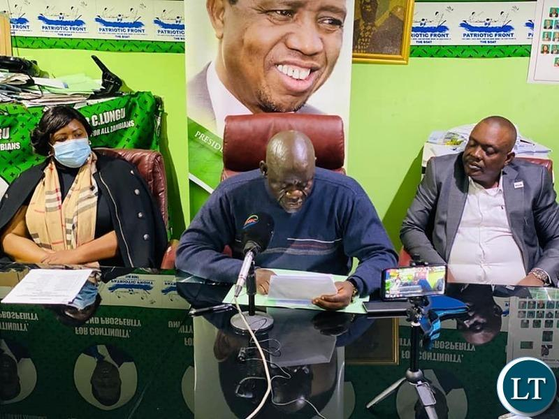 PF Finalises the List of its candidates for the 2021 Elections
