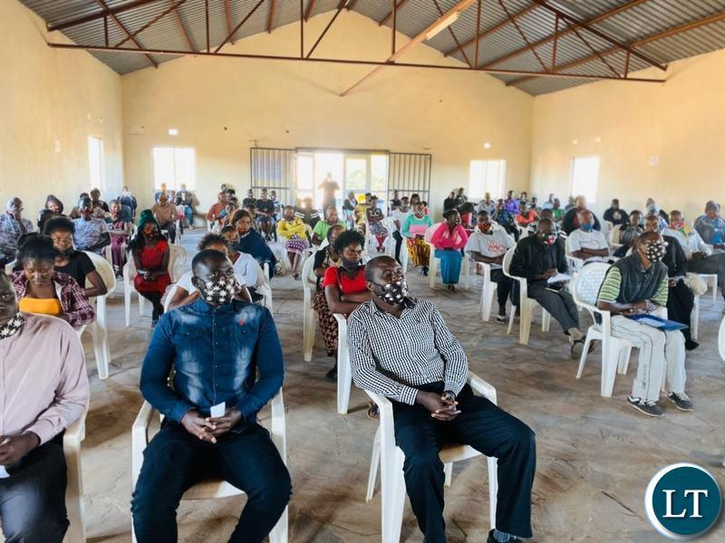 The government says it has prioritized harnessing of the youths demographic dividend in its plan