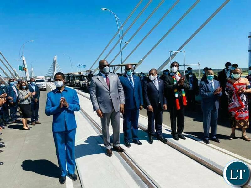 Kazungula Bridge to enhance free trade-President Lungu