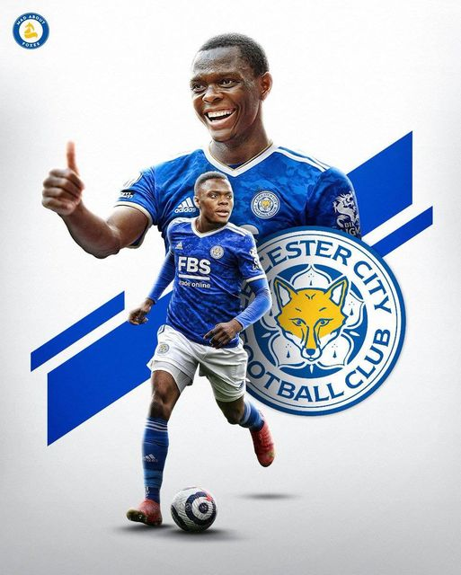 Patson Daka scored his first ever goal in Leicester colors