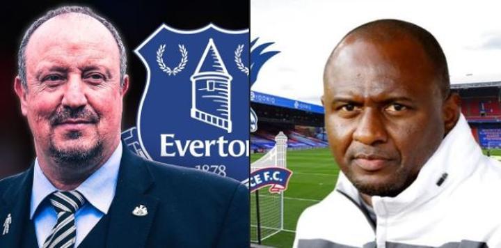 Everton Set To Appoint Rafael Benitez, As Crystal Palace Look Former Arsenal Legend, Patrick Vieira