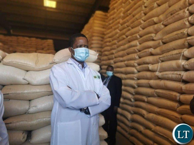 FRA continues maize purchase