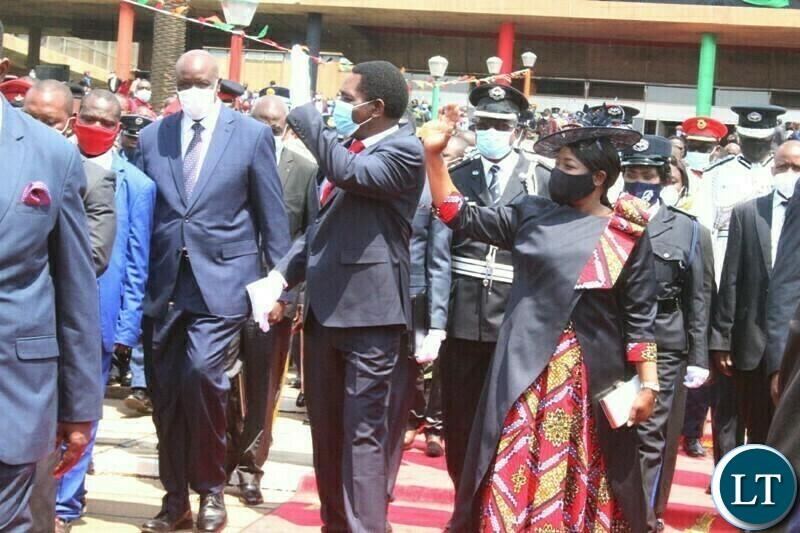 President Hakainde Hichilema