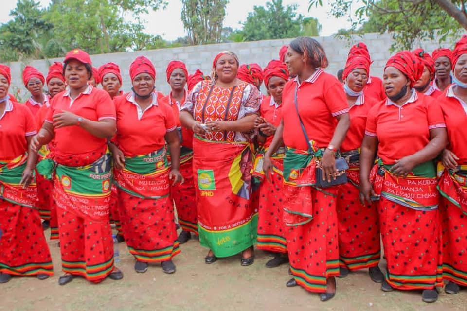 Doreen Mwamba Launch Women Campaign For Kaumbwe By-election