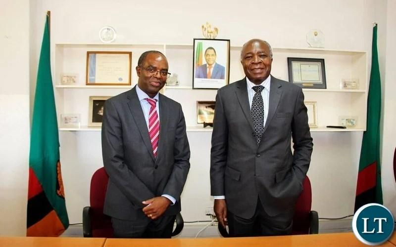 Reduce the Queues at Tax Paying Points and Remove Chaos at All Borders, Musokotwane Directs New ZRA Chief