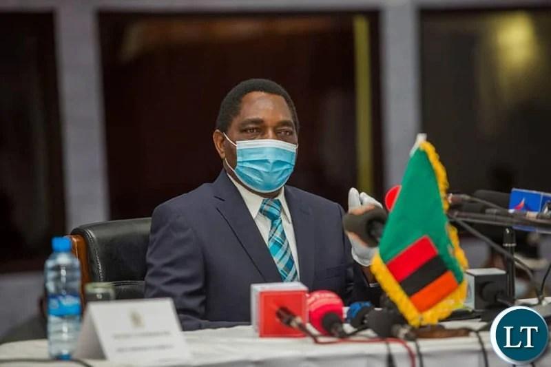 President Hichilema confers with UK envoys