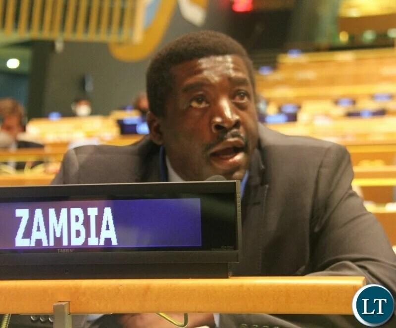 HH determined to fight corruption, money laundering, terrorism, Muhabi Lungu tells the UN