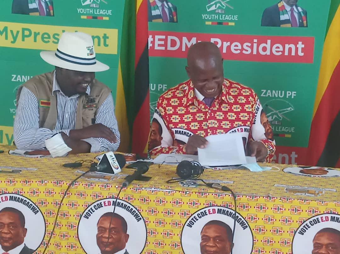 Chinamasa Reveals ZANU PF Succession Plan