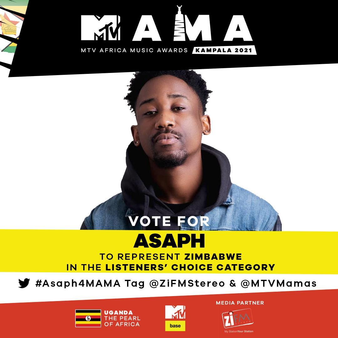 Bulawayo Rapper Asaph Makes The MTV People's Choice Award Shortlist