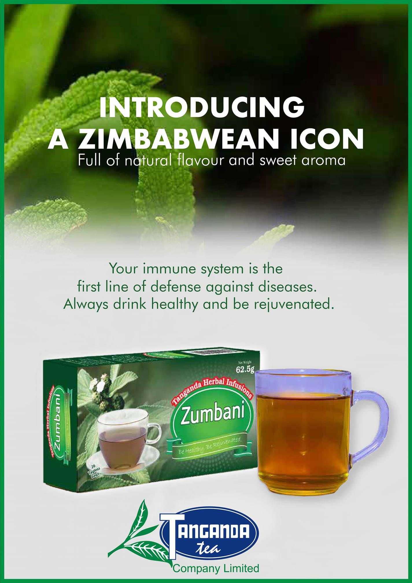 Tanganda Starts Selling Zumbani Tea