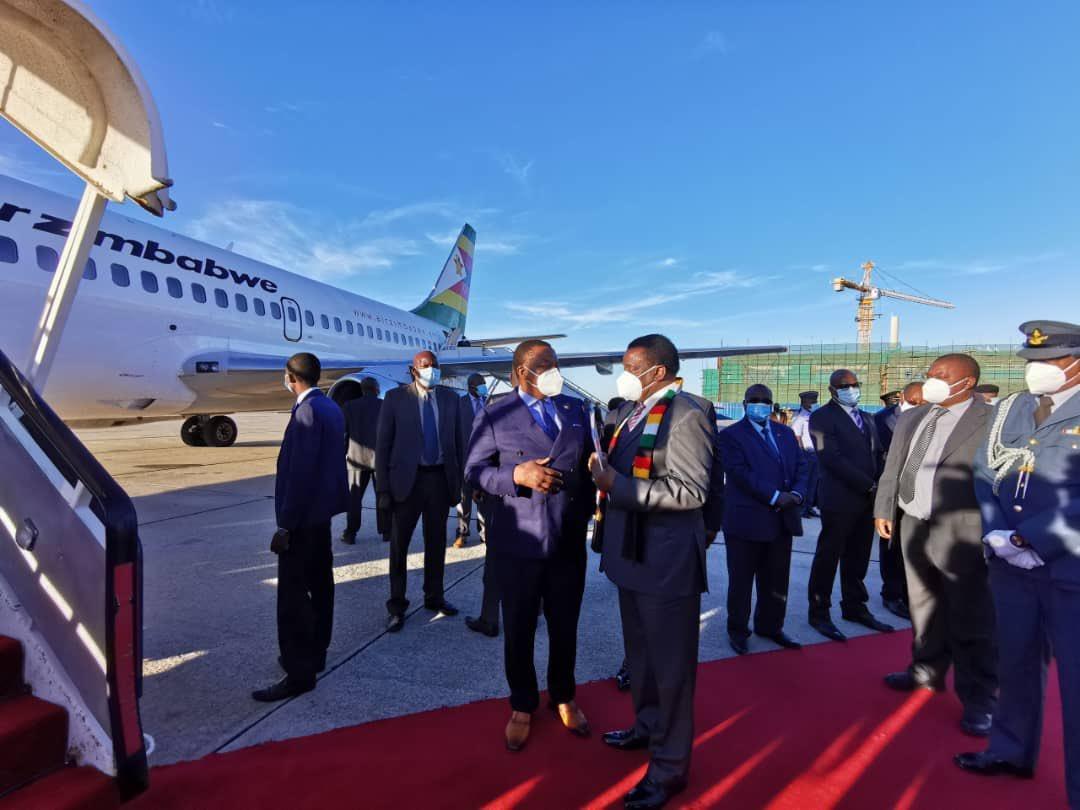 ED In Maputo For SADC Double Troika Summit