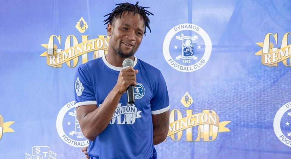 Dynamos Captain Partson Jaure Pens Fresh Contract