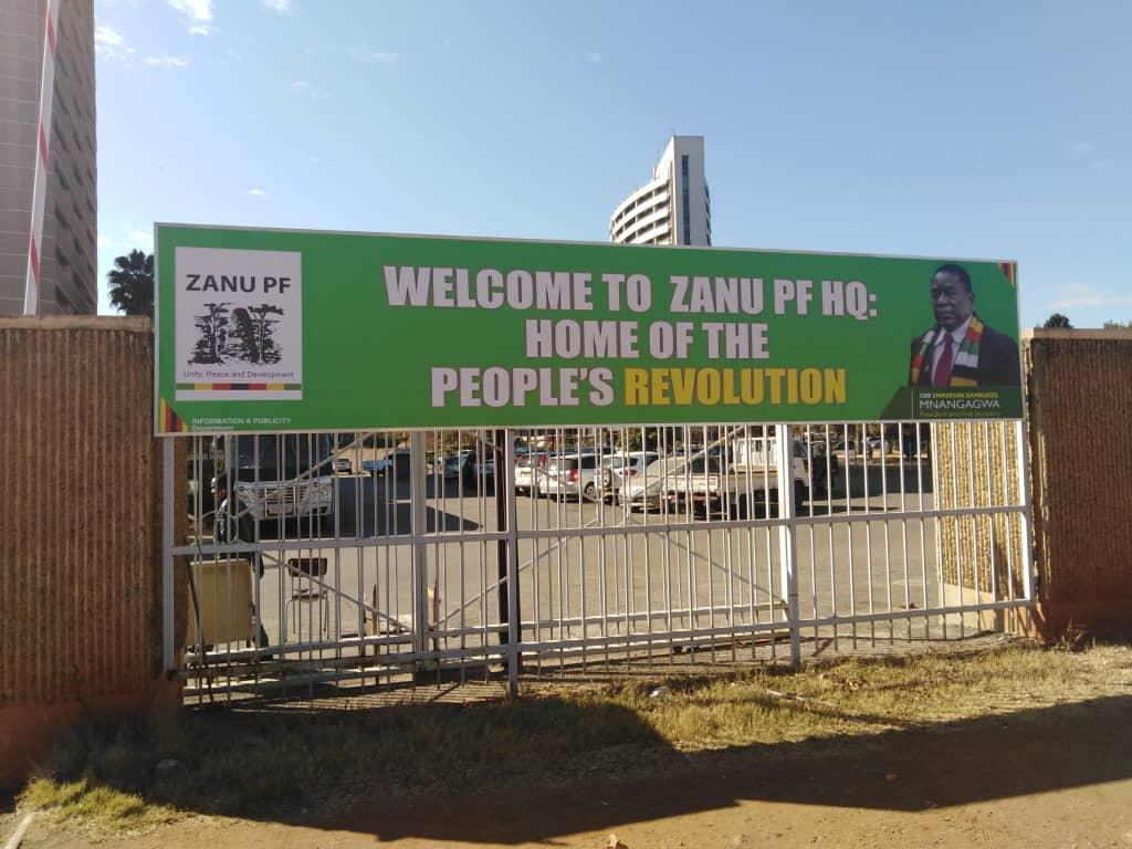 AUDIO: 'Only ZANU PF Members Will Get Jobs In Government'