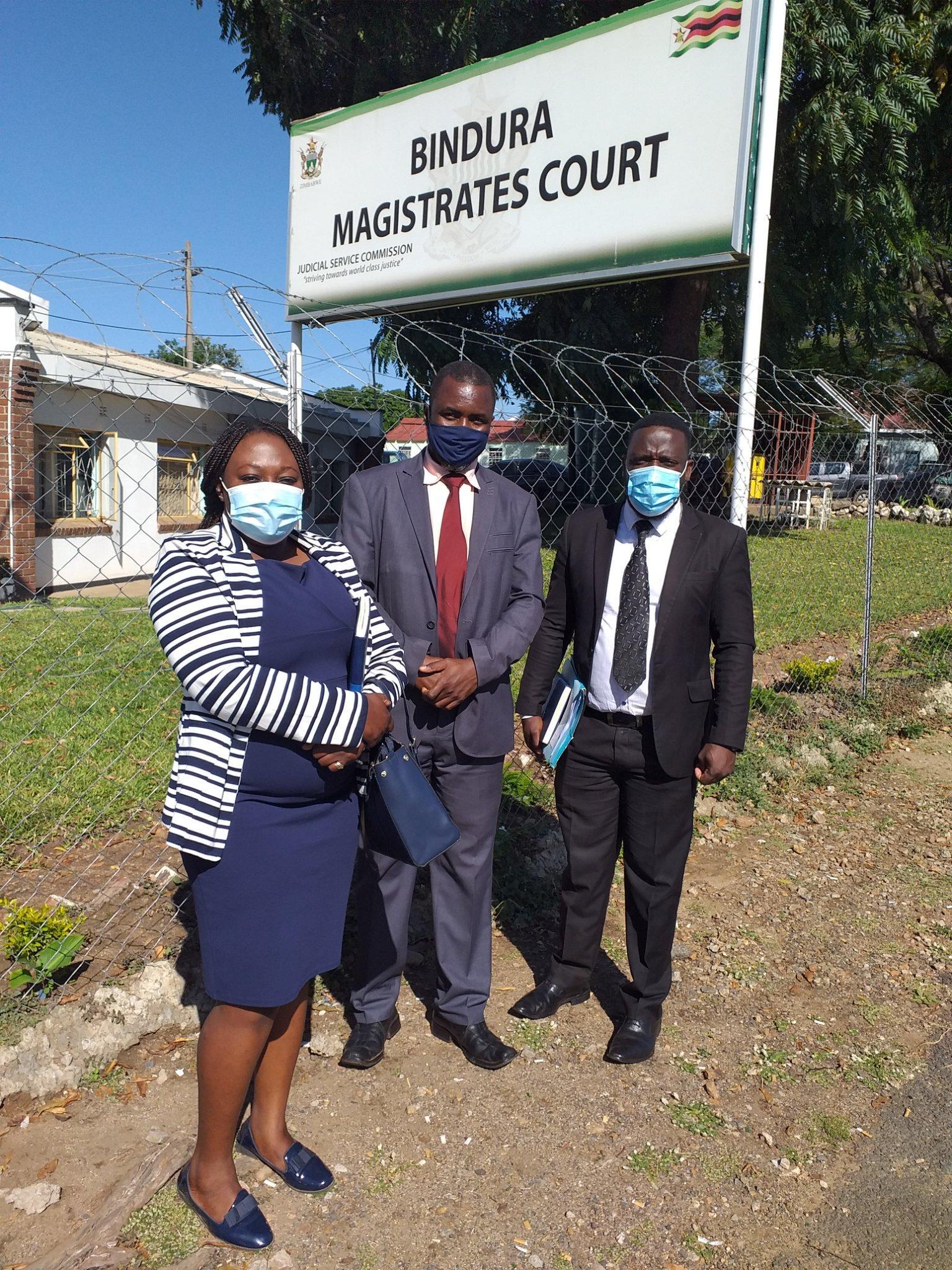 ZANU PF Official In Court For 'Undermining' Mnangagwa