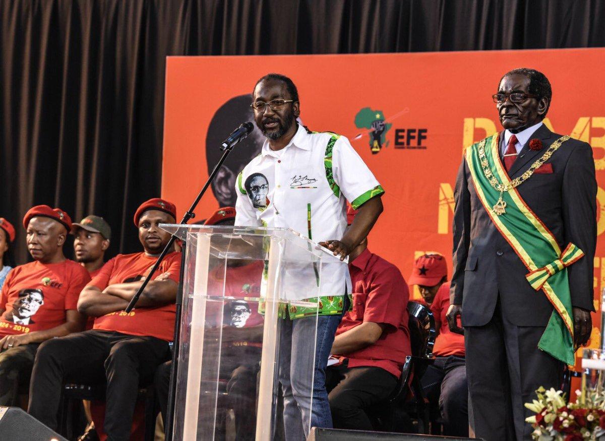 Mnangagwa Behind Push To Exhume Mugabe, He Wants 'Mystic Tsvimbo', Says Zhuwawo