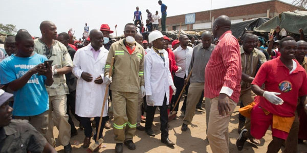 Chamisa Resumes Clean-up Campaigns