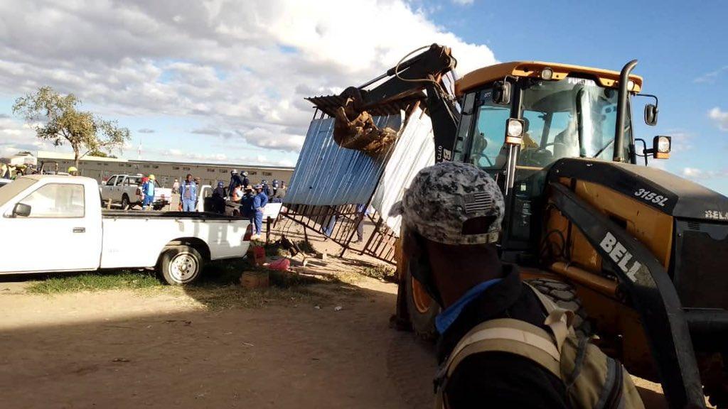 Black Magic Drama Halts Demolitions At Mbudzi Roundabout