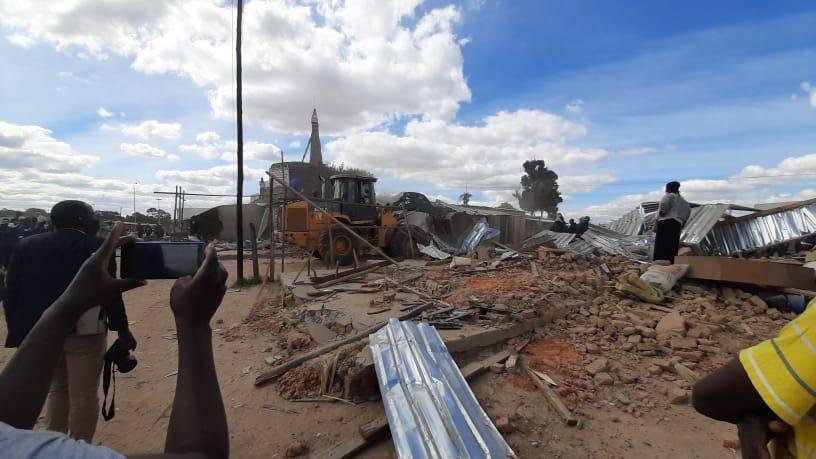 CHRA Condemns Demolitions Of Informal Businesses