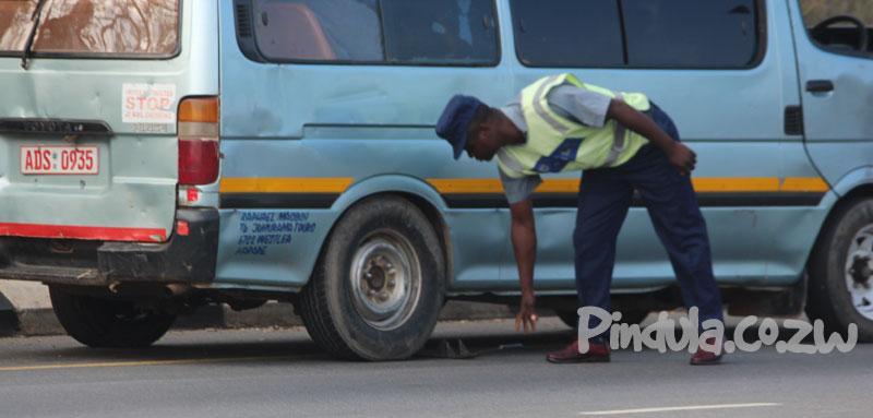 Mutare Police Spikes: Kombi Overturns Injuring 10
