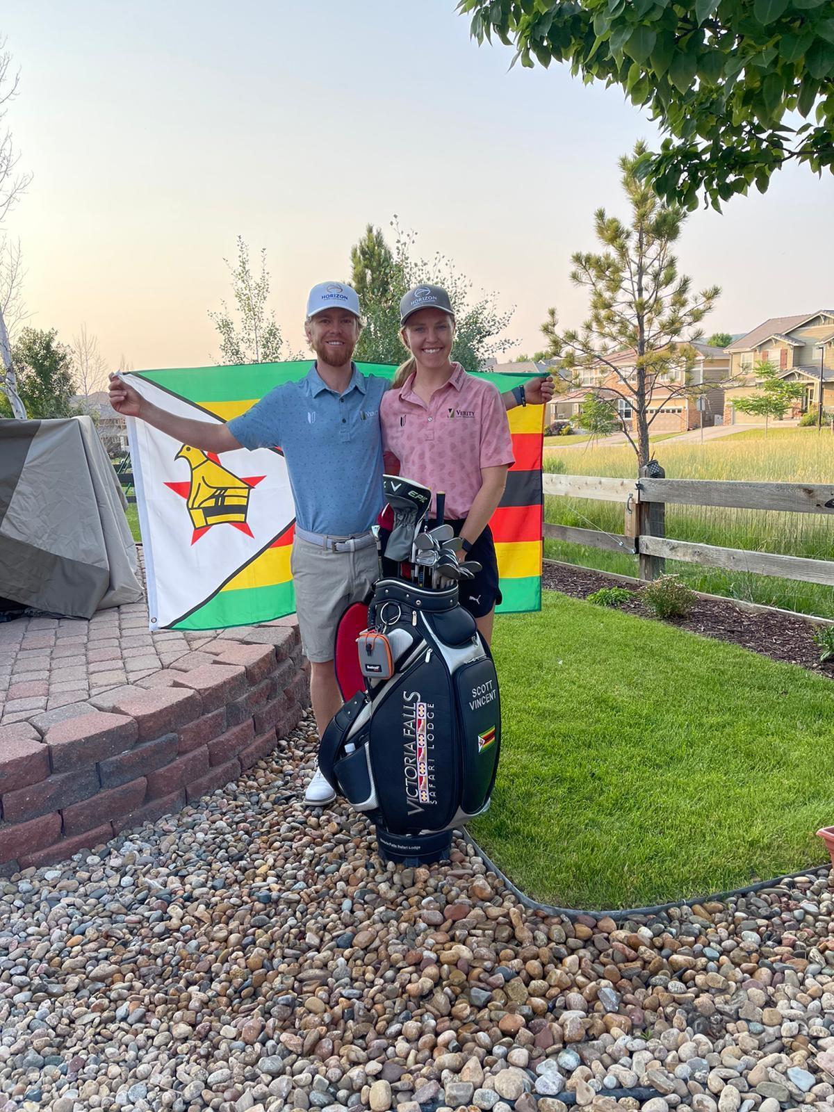 Victoria Falls Safari Lodge Partners Olympic-Bound Golfer Scott Vincent