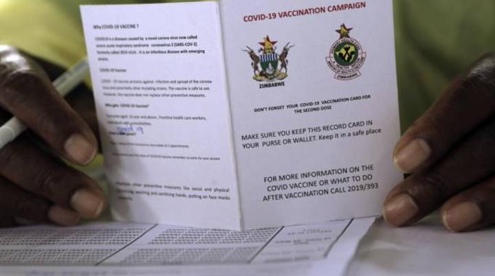 'Compulsory' COVID-19 Jabs Creates Vaccination Card Barons