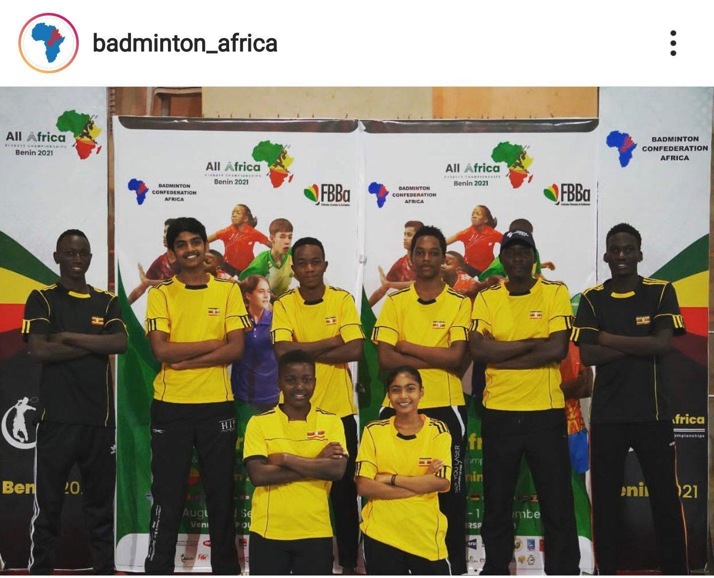 U19 team earn praise at All Africa U19 Badminton Championship